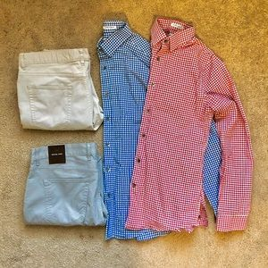 Two Slim Fit Express Shirts and two chinos